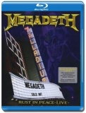 Megadeth / Rust in Peace Live [Blu-Ray]