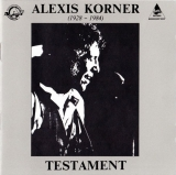 Alexis Korner ‎/ Testament [CD] Import