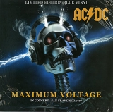 AC/DC ‎– Maximum Voltage - In Concert - San Francisco '77 [LP] Import