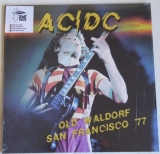 AC/DC ‎– Old Waldorf San Francisco '77 [LP] Import