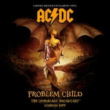 AC/DC ‎– Problem Child - Concert Featuring Bon Scott [LP] Import