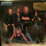 Accept ‎– Eat The Heat (Coloured) [LP] Import