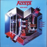 Accept ‎– Metal Heart (Coloured) [LP] Import