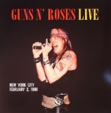 Guns N' Roses ‎– Live In New York City February 2 1988 (Red Vinyl) [LP] Import