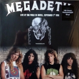Megadeth - Live At San Paolo Do Brasil, September 1995 (White Vinyl) [LP] Import