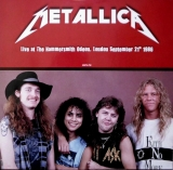 Metallica ‎– Live At Hammersmith Odeon, London 1986 (Red Vinyl) [LP] Import
