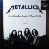 Metallica ‎– Live at Winston Farm, Saugerties, 1994 (Orange Vinyl) [2LP] Import