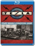 Tesla - Five Man London Jam (2019) [Blu-Ray]