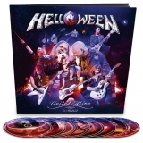 Helloween ‎– United Alive In Madrid (Earbook) [2Blu-Ray+3DVD+3CD] Import
