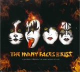 Various ‎– The Many Faces Of KISS [3CD] Import