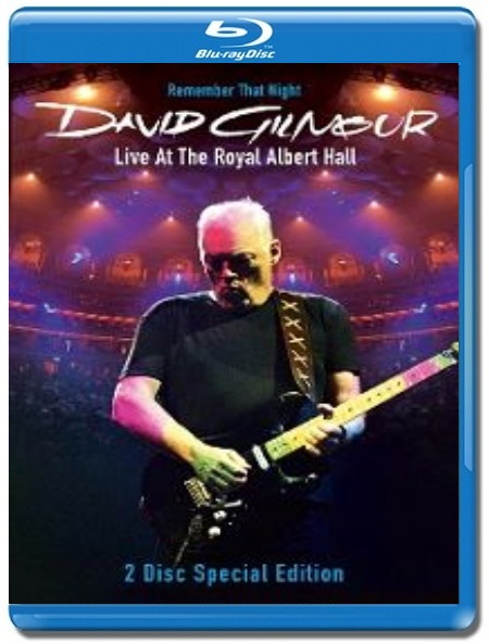 David Gilmour / Remember That Night - Live At The Royal Albert Hall [2 Blu-Ray]