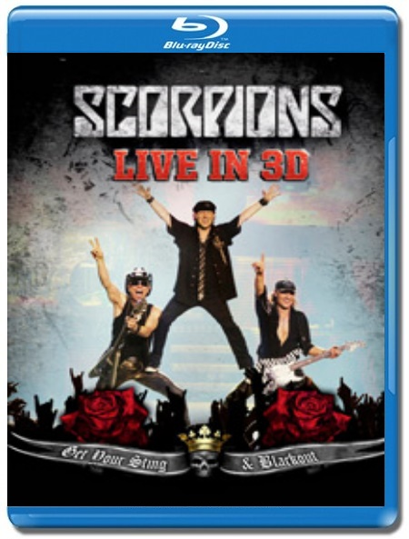 Scorpions / Live In 3D [Blu-Ray 3D]