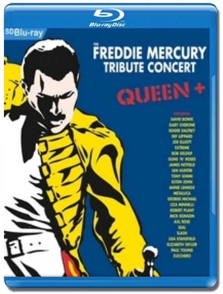 The Freddie Mercury Tribute Concert +Queen [Blu-Ray]