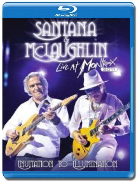 Santana and McLaughlin / Invitation to Illumination Live at Montreux [Blu-Ray]