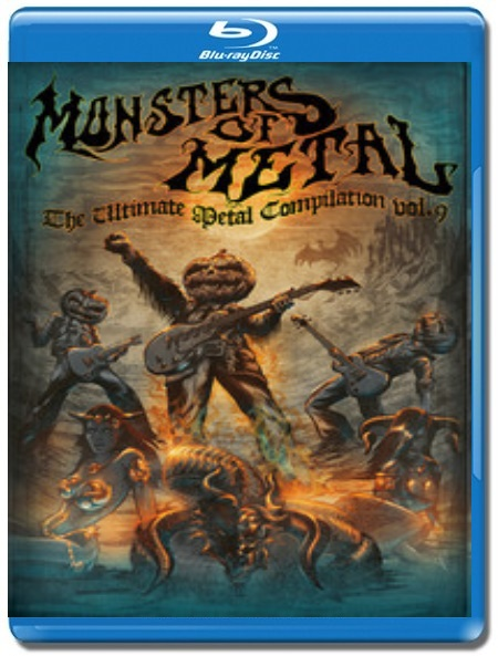 Monsters of Metal Vol.9 [Blu-Ray]