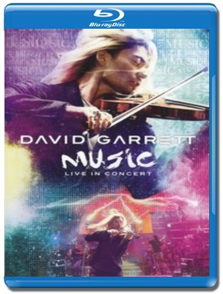 David Garrett / Music Live In Concert [Blu-Ray]