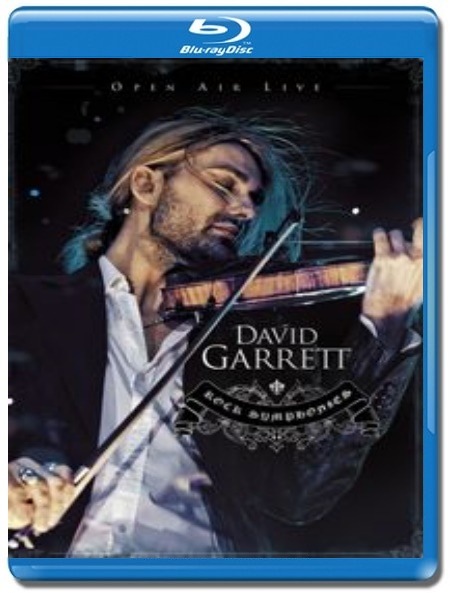 David Garrett / Rock Symphonies (Open Air Live) [Blu-Ray]