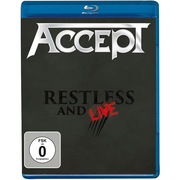 Accept - Restless And Live [Blu-Ray] Import