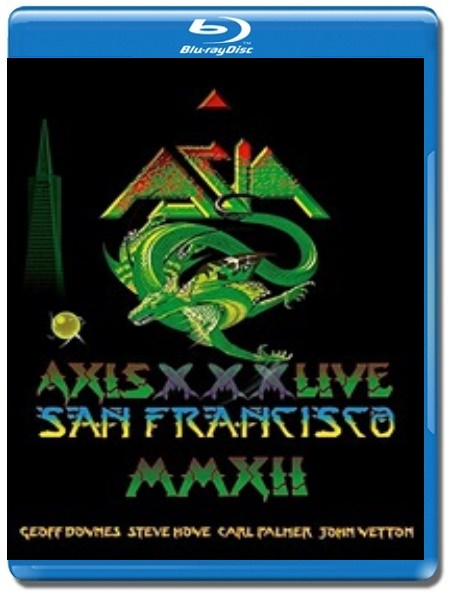 Asia / Axis XXX - Live San Francisco [Blu-Ray] Import