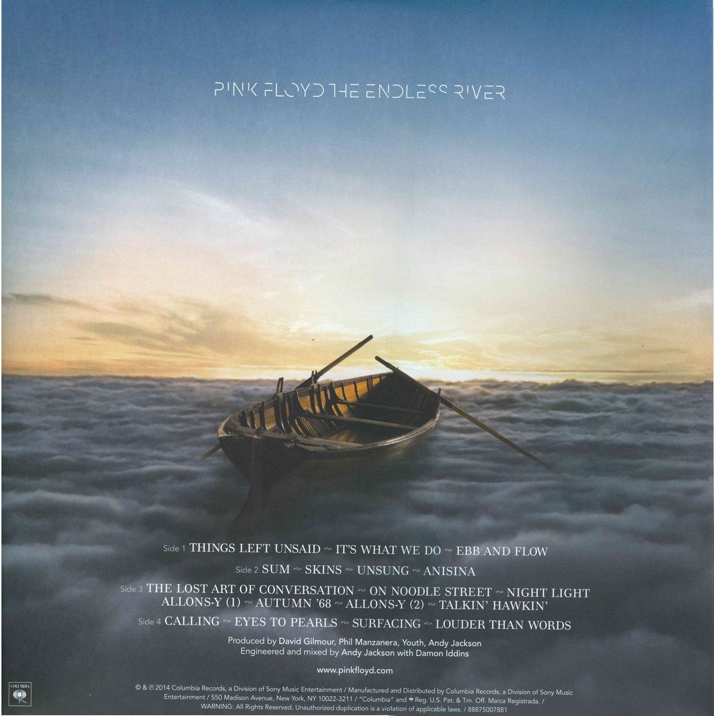 Pink Floyd / The Endless River [2LP] Import