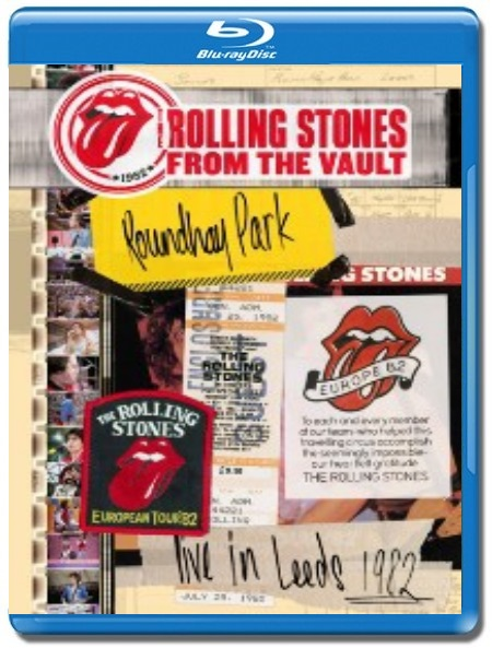 The Rolling Stones / From The Vault, Live in Leeds 1982 [Blu-Ray]