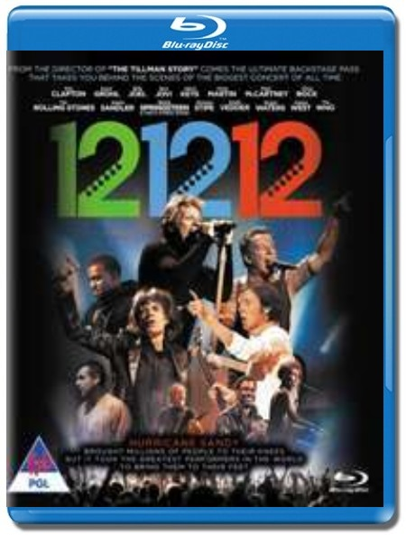 12-12-12 The Concert For Sandy Relief [Blu-Ray]