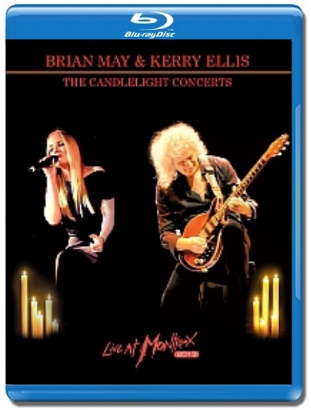 Brian May & Kerry Ellis /The Candlelight Concerts Live At Montreux [Blu-Ray]