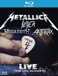 The Big 4 Metallica Slayer Megadeth Anthrax:Live from Sofia [2 Blu-Ray]