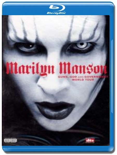 Marilyn Manson / Guns,God and Government. Live in L.A. [Blu-Ray]