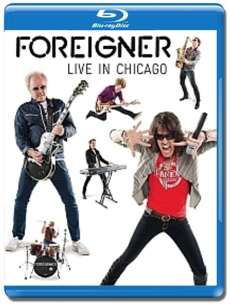 Foreigner / Live In Chicago [Blu-Ray]