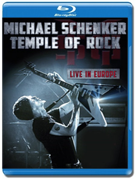 Michael Schenker / Temple Of Rock Live In Europe [Blu-Ray]