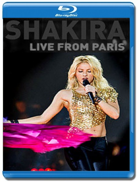 Shakira / Live from Paris [Blu-Ray]