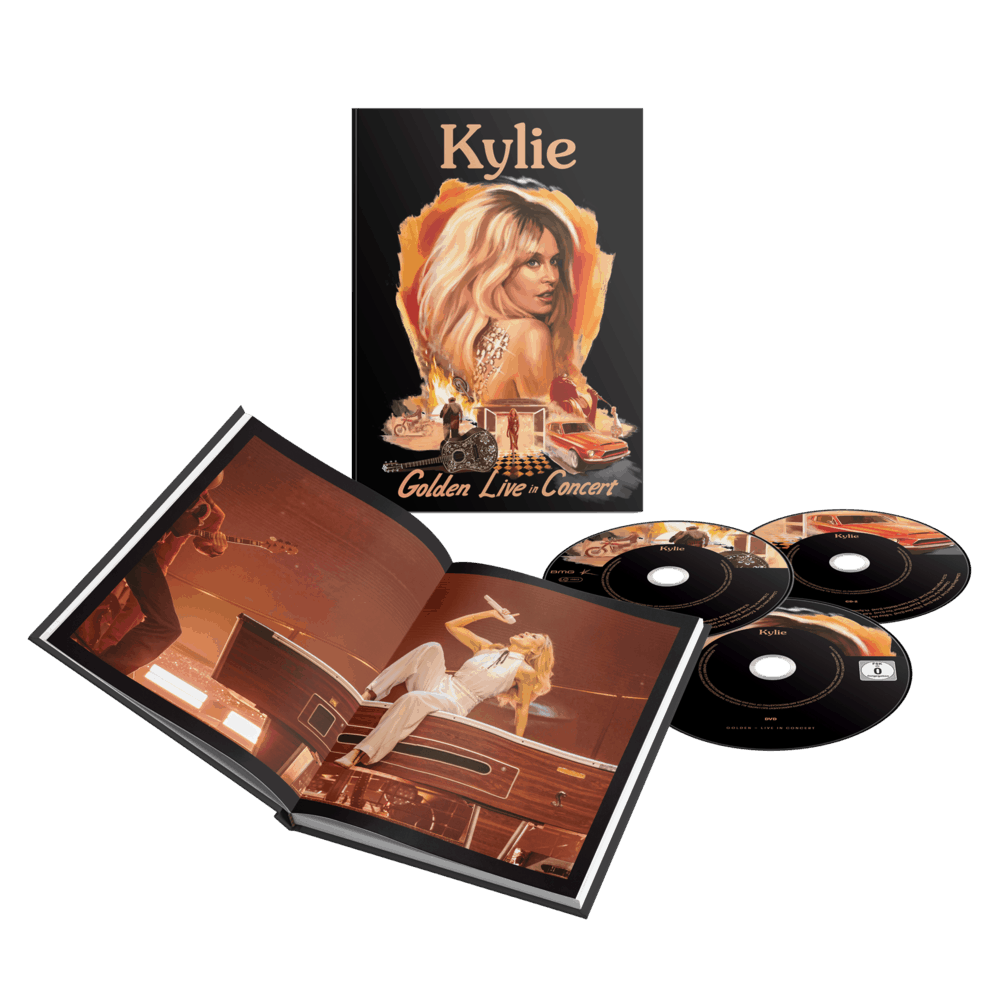Kylie Minogue - Golden Live in Concert [2CD+DVD]