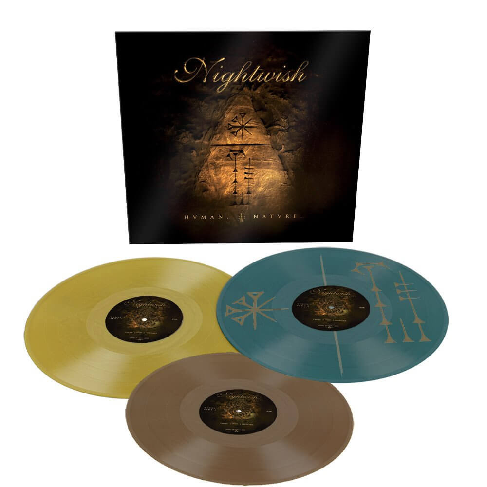 Nightwish - Human. :II: Nature. (Trio Vinyl) [3LP] Import
