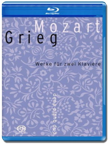 Mozart-Grieg / Works for Two Pianos, Vol. II