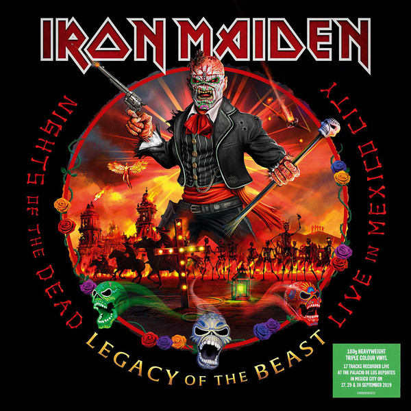 Iron Maiden – Nights Of The Dead, Legacy Of The Beast (Ltd. Vinyl) [3LP] Import