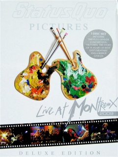 Status Quo ‎/ Pictures: Live At Montreux 2009 (Deluxe) (2009) [DVD+CD] Import
