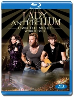 Lady Antebellum / Own the Night World Tour (2012) [Blu-Ray] Import