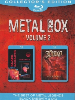 Black Sabbath, Dio / Metal Box, Volume 2 (2011) [2хBlu-Ray] Import