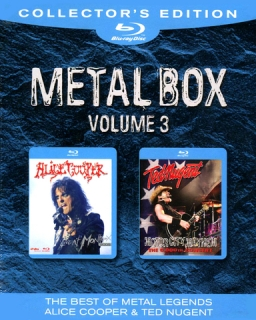 Alice Cooper, Ted Nugent / Metal Box, Volume 3 (2011) [2хBlu-Ray] Import