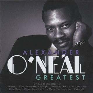 Alexander O'Neal ‎/ Greatest [CD] Import