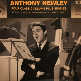 Anthony Newley ‎/ Four Classic Albums Plus Singles [4хCD] Import