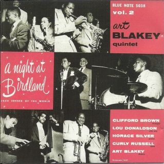 Art Blakey Quintet ‎/ A Night At Birdland, Volume Two [CD] Import