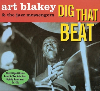 Art Blakey & The Jazz Messengers ‎/ Dig That Beat [3хCD] Import