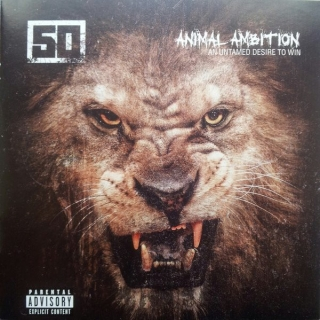 50 Cent ‎– Animal Ambition [DVD+CD] Import