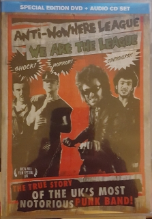 Anti-Nowhere League ‎– We Are The League [DVD+CD] Import