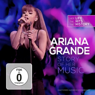Ariana GRANDE - Story Of Her Music [CD+DVD] Import
