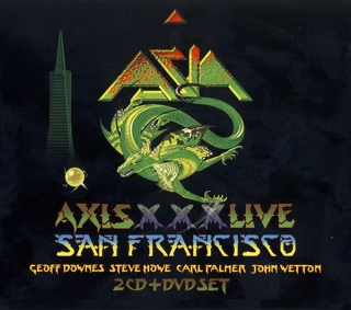 Asia ‎– Axis XXX Live San Francisco [2CD+DVD] Import