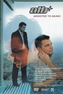 ATB ‎– Addicted To Music [DVD] Import