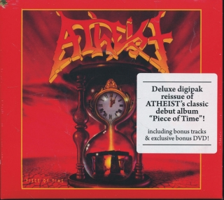 Atheist ‎– Piece Of Time [CD+DVD] Import